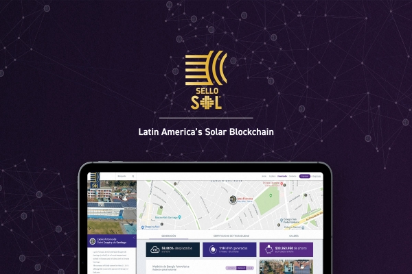 Blockchain for tracking solar energy generation
